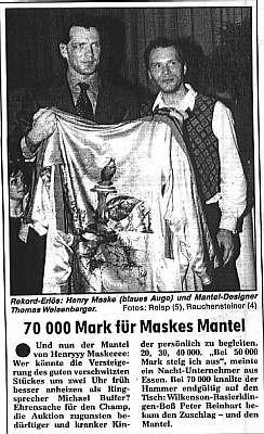 henry maske europameister